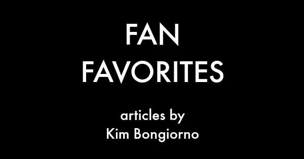Fan Favorites by Kim Bongiorno