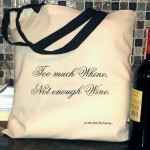 Yes, I know my photo isn't that great. But having a free bag big enough to take to the store and stock up on wine?  Very great.