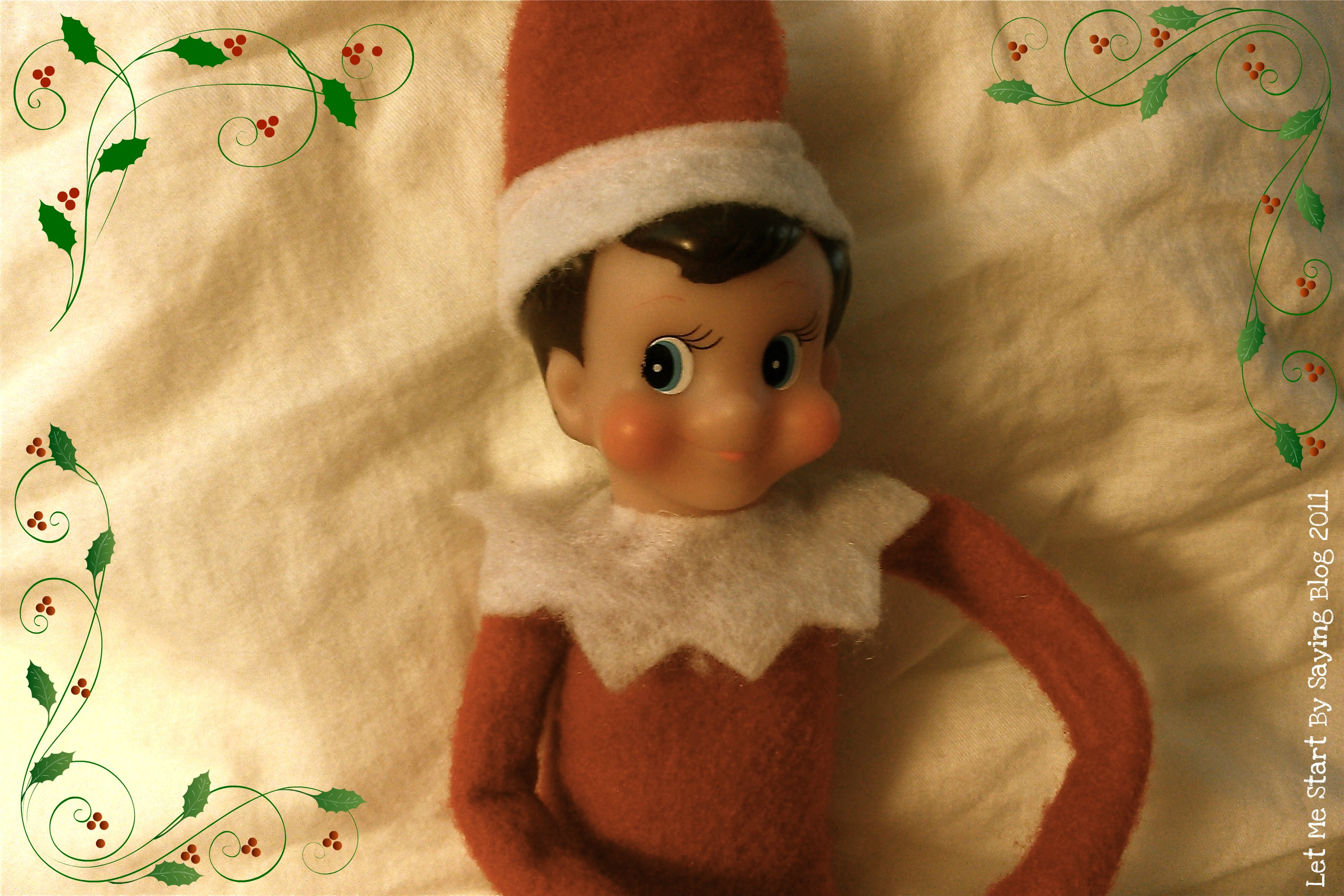 Signs your Elf on the Shelf is on the Naughty List - a funny holiday humor post featuring a bad elf! by @letmestart