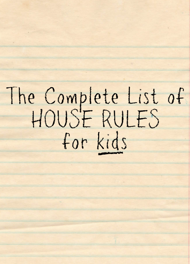 Share house rules template gallery templates design ideas house rules template choice image templates design ideas share house rules template images templates design ideas pronofoot35fo Choice Image