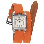 Hermes Cape Cod Watch in Orange.  *I love you*