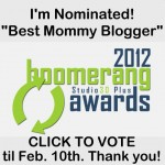 Let Me Start By Saying Boomerang Award Nomination 2012
