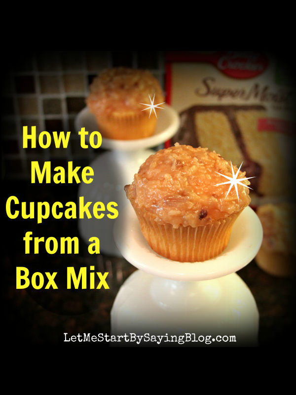 How to Make Cupcakes from a Box Mix | An important and easy cupcake recipe by @letmestart