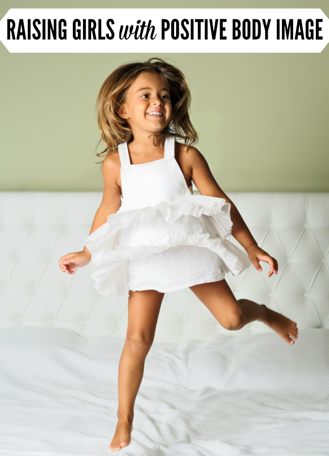 What would you say if your daughter told you that you had fat thighs? Here's one mom's story that just might teach you how to raise girls to have positive body image.   Her Future Fat Thighs by @letmestart