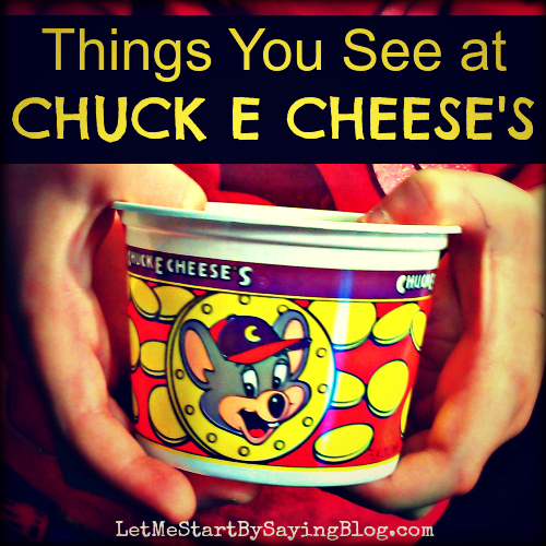 Chuck E Cheeses by @LetMeStart