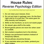 New House Rules by @LetMeStart
