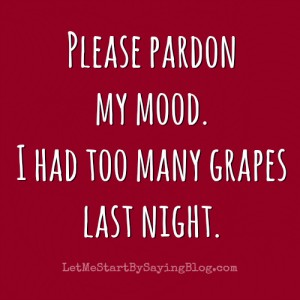 Wine Grapes by @LetMeStart #humor