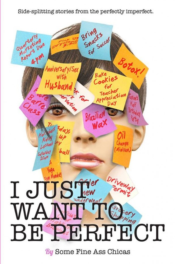 I Just Want to Be Perfect book featuring Kim Bongiorno #IJWTBP