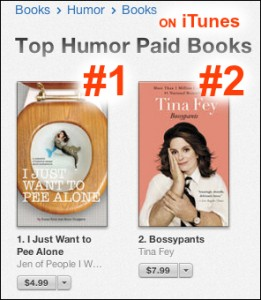 Top Paid Humor iTunes IJustWantToPeeAlone