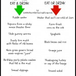 What Kids Will Eat & Drink vs What Kids Won't Eat or Drink
