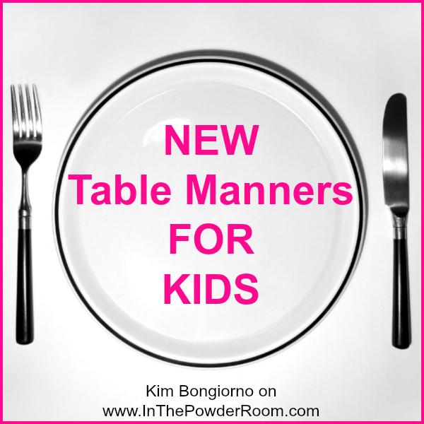 Table manners for kids the image kid for 10 good table manners