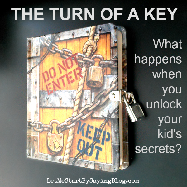 Turn of a Key by @LetMeStart #kids #diary