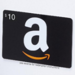 10 dollar Amazon gift card