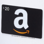 20 dollar Amazon gift card