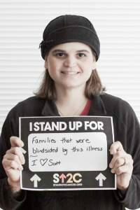 OurSmallMoments @FotoCourtney stood up for Scott for @SU2C
