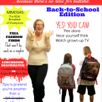 Real Moms Magazine: Back-to-School Issue