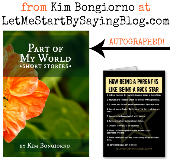 Win book and card from Kim Bongiorno @LetMeStart