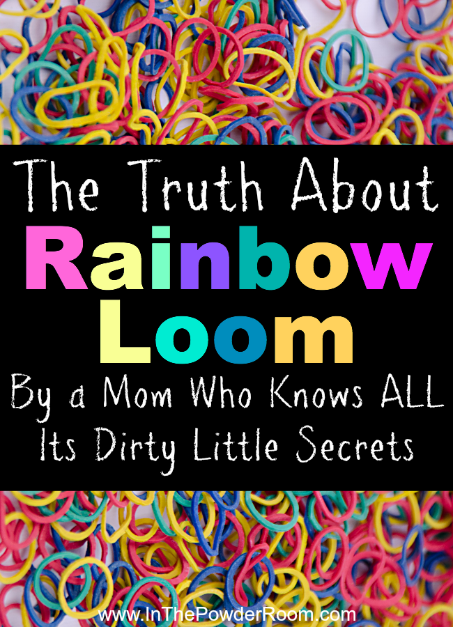 The Truth About Rainbow Loom Kim Bongiorno on @Inthepowderroom