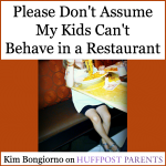 Do You Sit Near Kids in Restaurants?