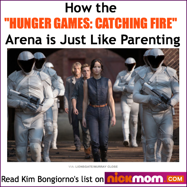 Hunger Games Catching Fire and Parenting by Kim Bongiorno on NickMom