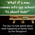 Talking About Sandy Hook with My Kids by Kim Bongiorno on InThePowderRoom