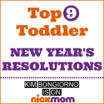 Toddler New Year's Resolutions
