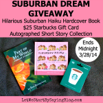 Suburban Haiku #Giveaway on LetMeStartBySaying