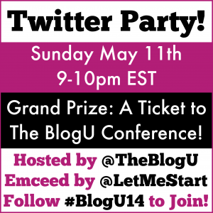BlogU Twitter Party 2014