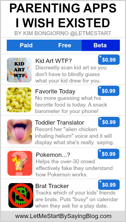 Parenting Apps by Kim Bongiorno