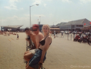 Kim Bongiorno Hampton Beach NH 1992