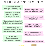 Overheard at my kids dentist appointments by Kim Bongiorno