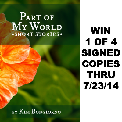 Win Part of My World by Kim Bongiorno