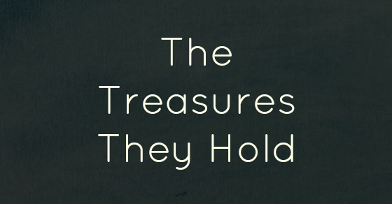 The Treasures They Hold by Kim Bongiorno