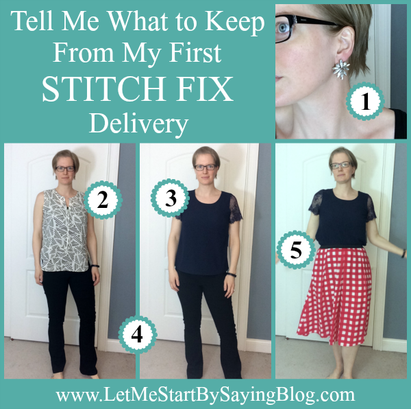An honest review of my very first Stitch Fix order, including multiple photos of each item, my opinions, and reader feedback.