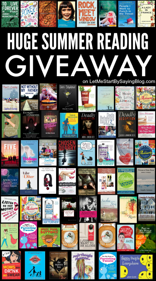 Huge Summer Reading Giveaway by @letmestart | a book #giveaway for book lovers of every genre ends 060815 | free books by New York Times best-selling authors and more