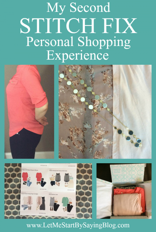 My Second Stitch Fix Personal Shopping Experience by @letmestart | WAHM style | women's fashion