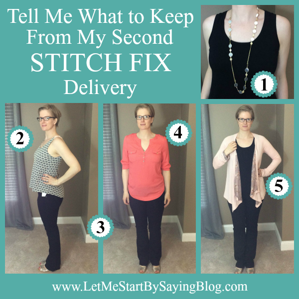 Tell Me What to Keep from My Second Stitch Fix Delivery by @letmestart | WAHM style | fashion