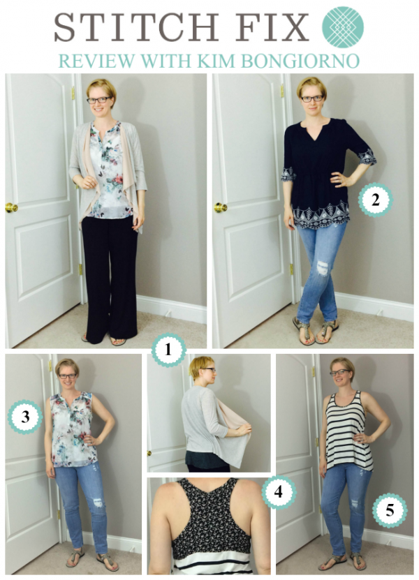 I kept all five items from this Stitch Fix review, despite not thinking it was a winner when I opened it--here's why.