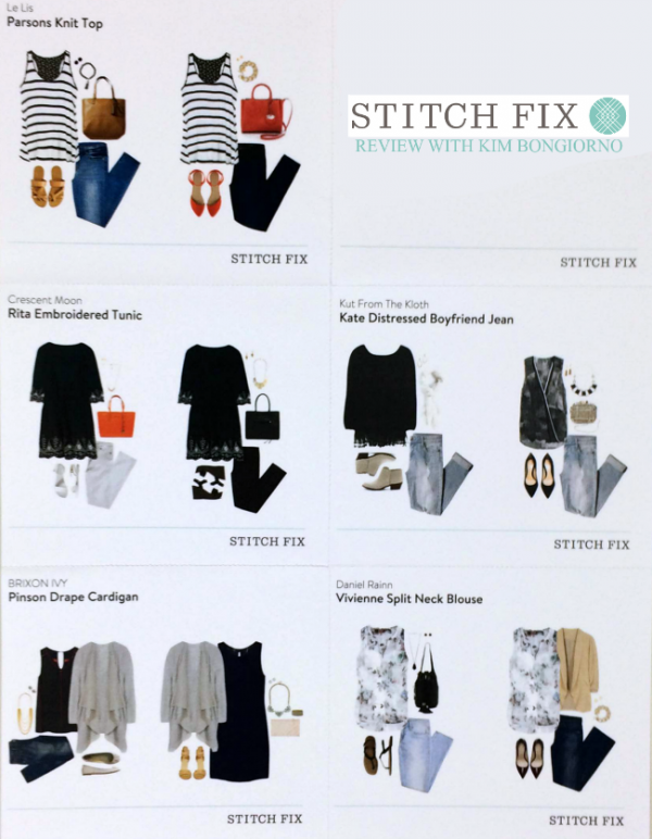 Style inspiration cards from Stitch Fix help me know how to incorporate all the pieces into my wardrobe and what to ask for next time!
