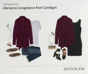 Abrianna Longsleeve Knit Cardigan Style Card featured in Stitch Fix Review by @letmestart | #stitchfix fashion tips and Stitch Fix Inspiration