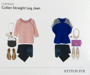 Colleen Straight Leg Jean Style Card featured in Stitch Fix Review by @letmestart | #stitchfix fashion tips and Stitch Fix Inspiration