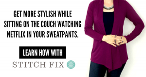 I love Stitch Fix online personal styling and think you might too. Learn more here.