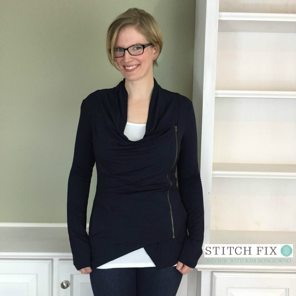 Market and Spruce Alan French Terry Asymmetrical Zip Cardigan from Stitch Fix with @letmestart | #stitchfix fashion tips and Stitch Fix Inspiration