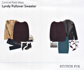Stitch Fix Central park West Lyndy Pullover Sweater in Burgundy featured in a Kim Bongiorno Winter Stitch Fix Review January 2016 Style Card | @letmestart #stitchfix fashion tips and Stitch Fix Inspiration