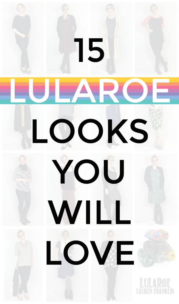 15 LuLaRoe Looks You Will Love featuring LuLaRoe Lauren Franklin and Kim Bongiorno | real style for moms like you and me