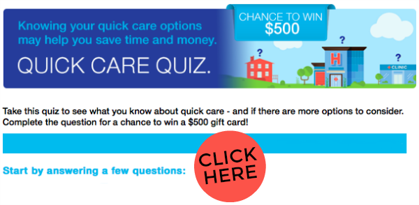 UnitedHealthcare Quick Care Quiz