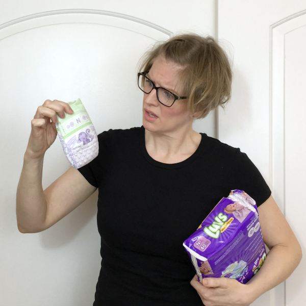 Luvs Parents vs First Time Parents featuring the itty bitty newborn diaper with @letmestart #sponsored | LOLs for mom and family